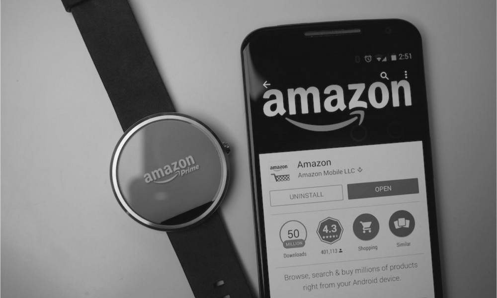 Amazon App on Smartwatch