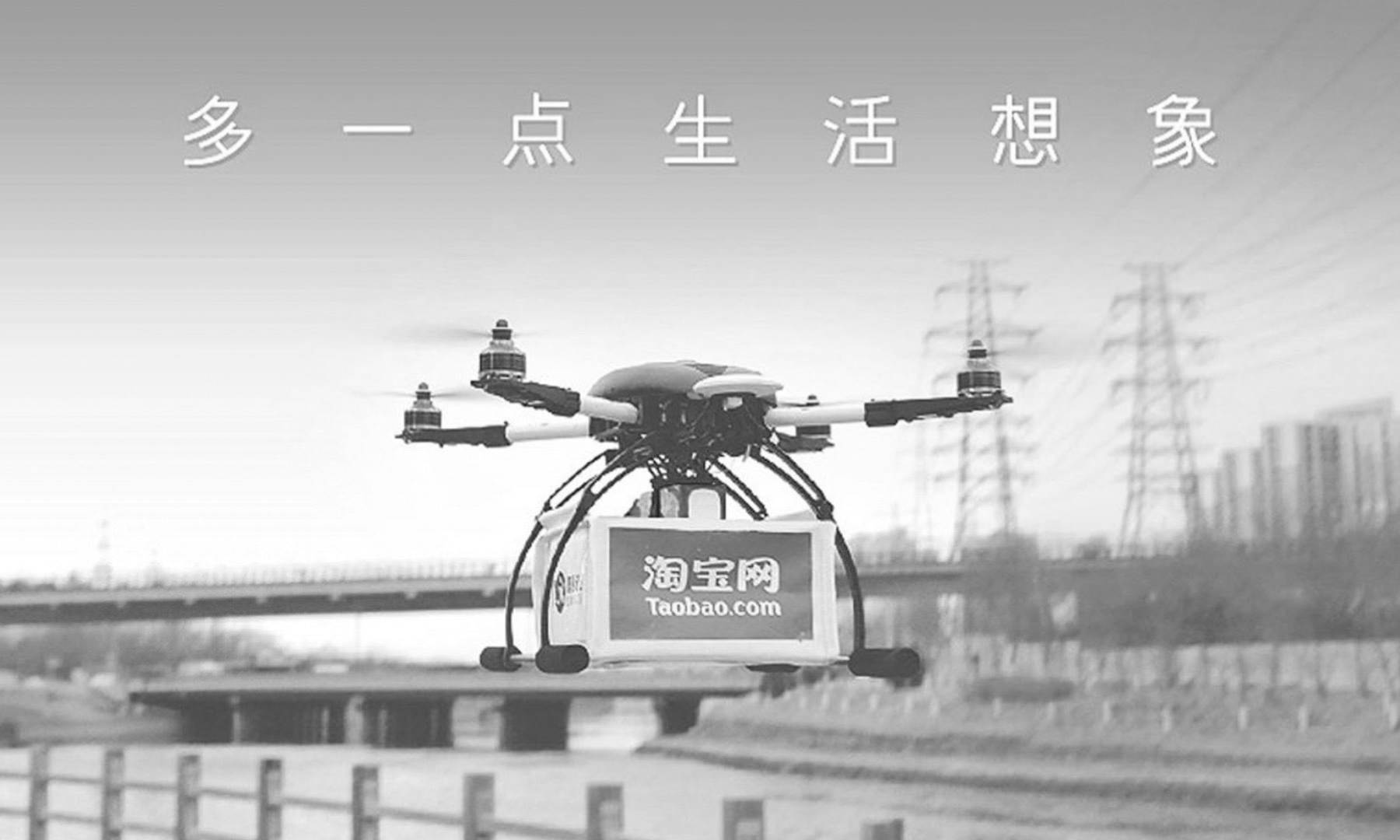 Delivering Tea By Drones