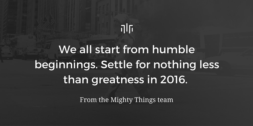 Mighty Things 2016